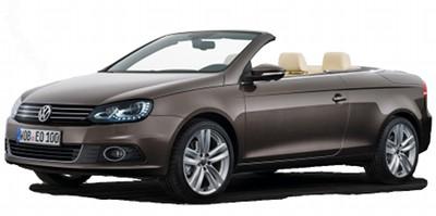 Présentation du coupé-cabriolet Volkswagen Eos de 2012.