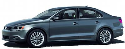 Présentation de la version 4 portes de la VW Golf: la <b>Volkswagen Jetta</b>.