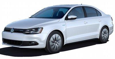 En 2013 la <b>Volkswagen Jetta</b> se dote d'une version hybride..