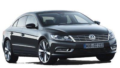 Présentation de la version restylée en 2013 de la Volkswagen Passat CC.